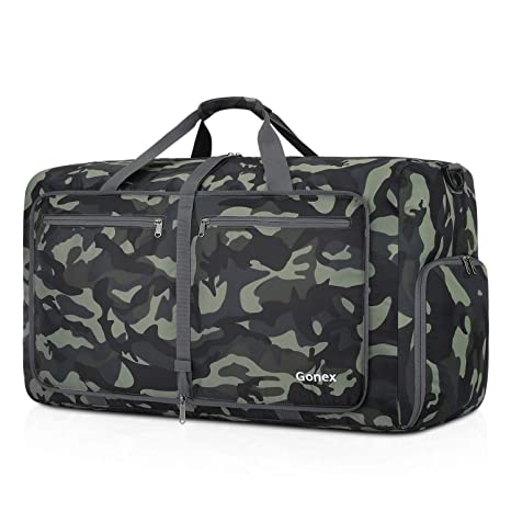 8e2c1891a7 Amazon.com  Gonex Foldable Travel Duffel 80L