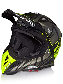 Airoh MX Casco 2017 Aviator 2.2 Styling Amarillo (X de Large, Amarillo)