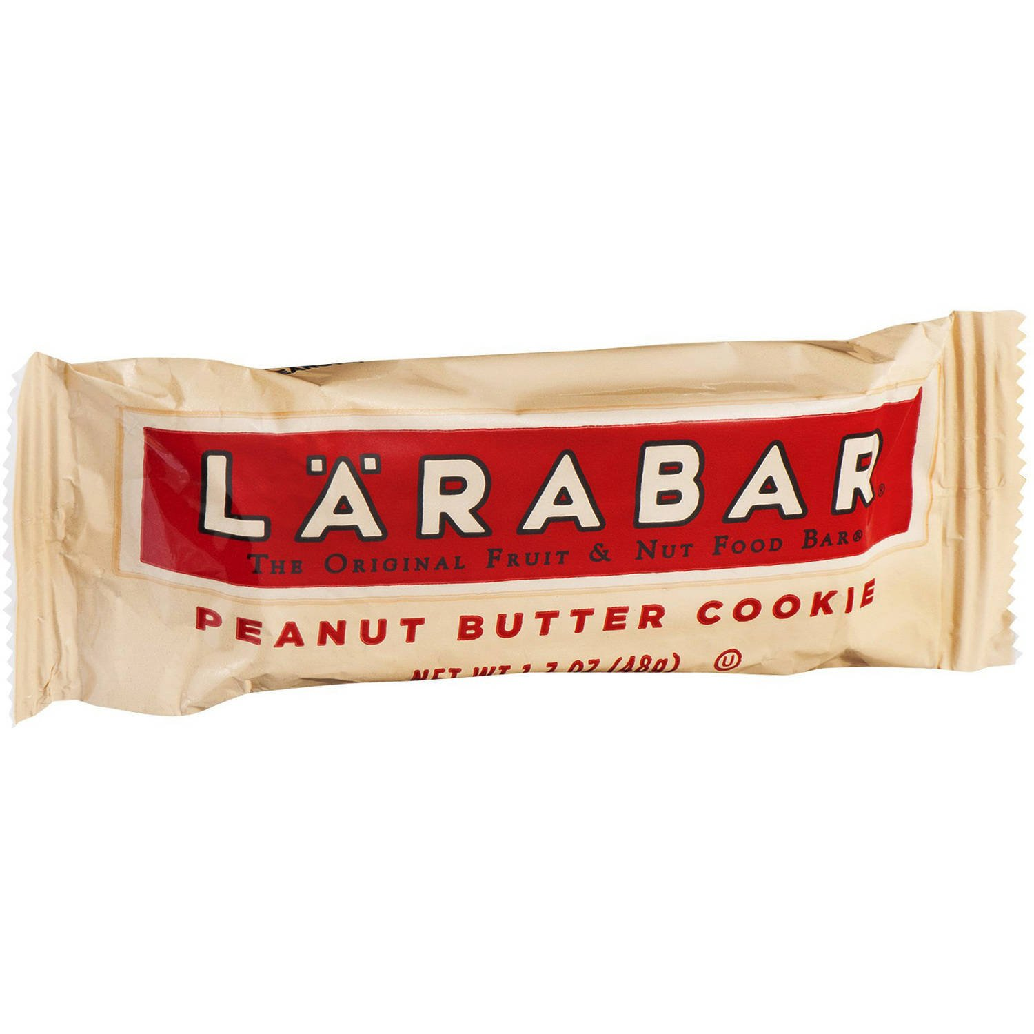 Larabar Gluten fDfih Free Bar, Peanut Butter Cookie, 1.7 oz Bars, 16 Count (4 Pack)