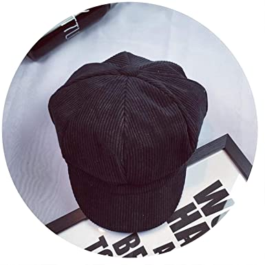 Rising ON-Berets Newsboy Cap for Vintage British Striped Beret Painter Hats for Male Octagonal