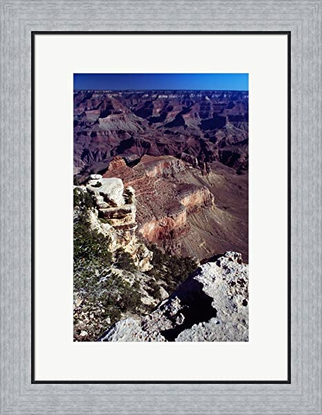 Amazon Aerial View Of The Grand Canyon National Park Framed Art