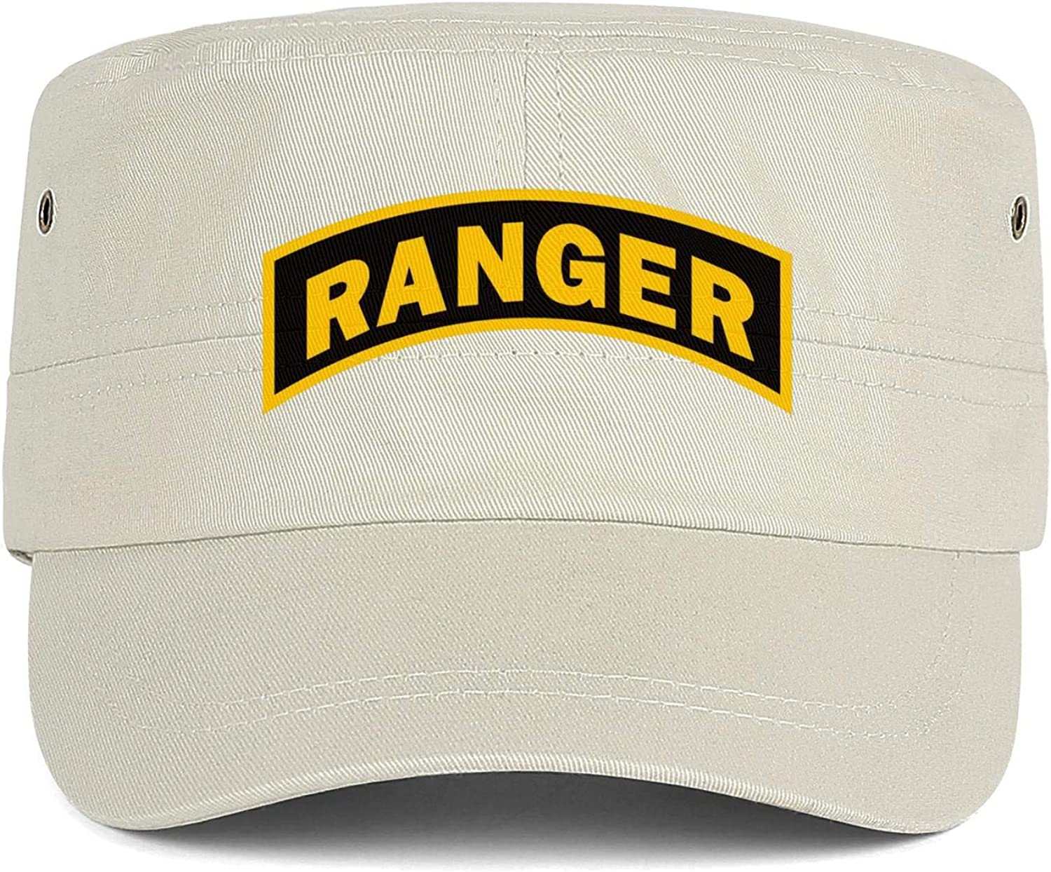 United States Army Rangers Army Cap Cadet Corps Hat Military Flat Top Adjustable Baseball Cap Cotton