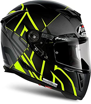 Airoh Casco Integral Casco de Moto GP 500 sectors Yellow Mate M