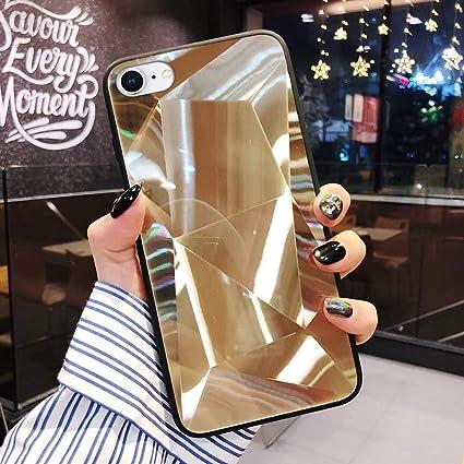 URFEDA Cover Compatibile con iPhone 8 Custodia Specchio ...
