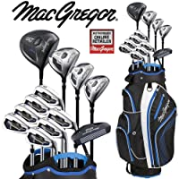 MacGregor DCT2000 Mens Golf Set Deluxe Cart Bag All Graphite Shafted Package Set + FREE Umbrella & Society Tee Pack Worth £24.00