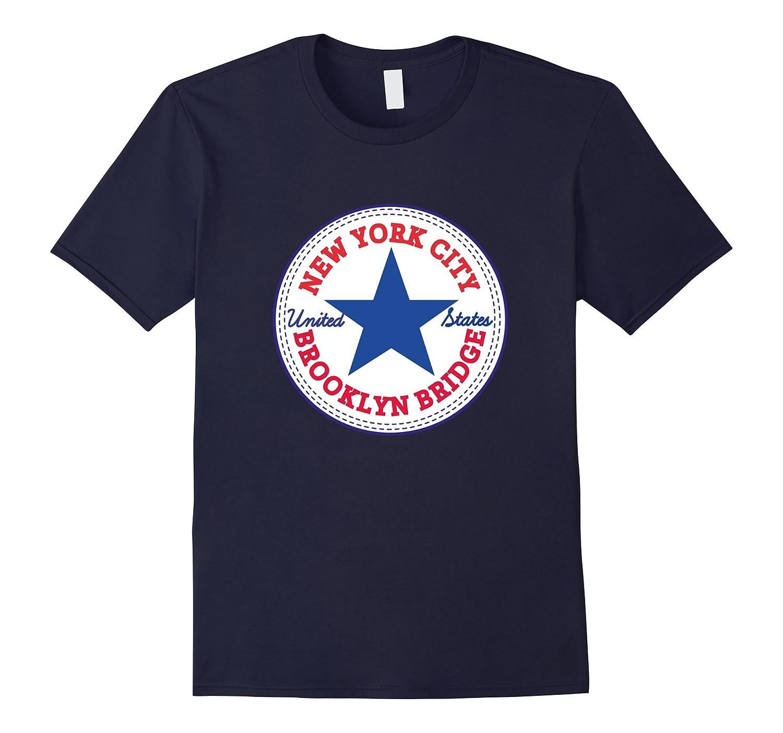 1f2458d7 New York City – BROOKLYN BRIDGE NY T-Shirt NYC Tshirt-BN – Banazatee