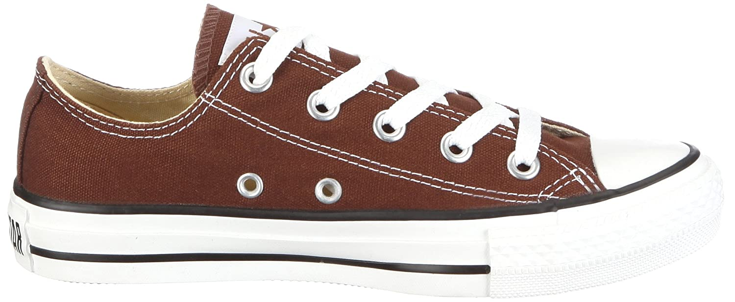 Amazon.com | Converse Unisex Chuck Taylor All Star Seasonal Ox Chocolate  Sneaker Men's 8, Women's 10 Medium | Fashion Sneakers