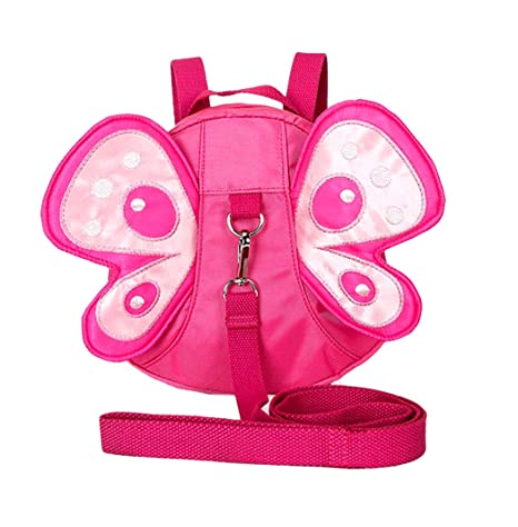 Xiaoyu bebé mariposa con alas caminando arnés de seguridad riendas ...