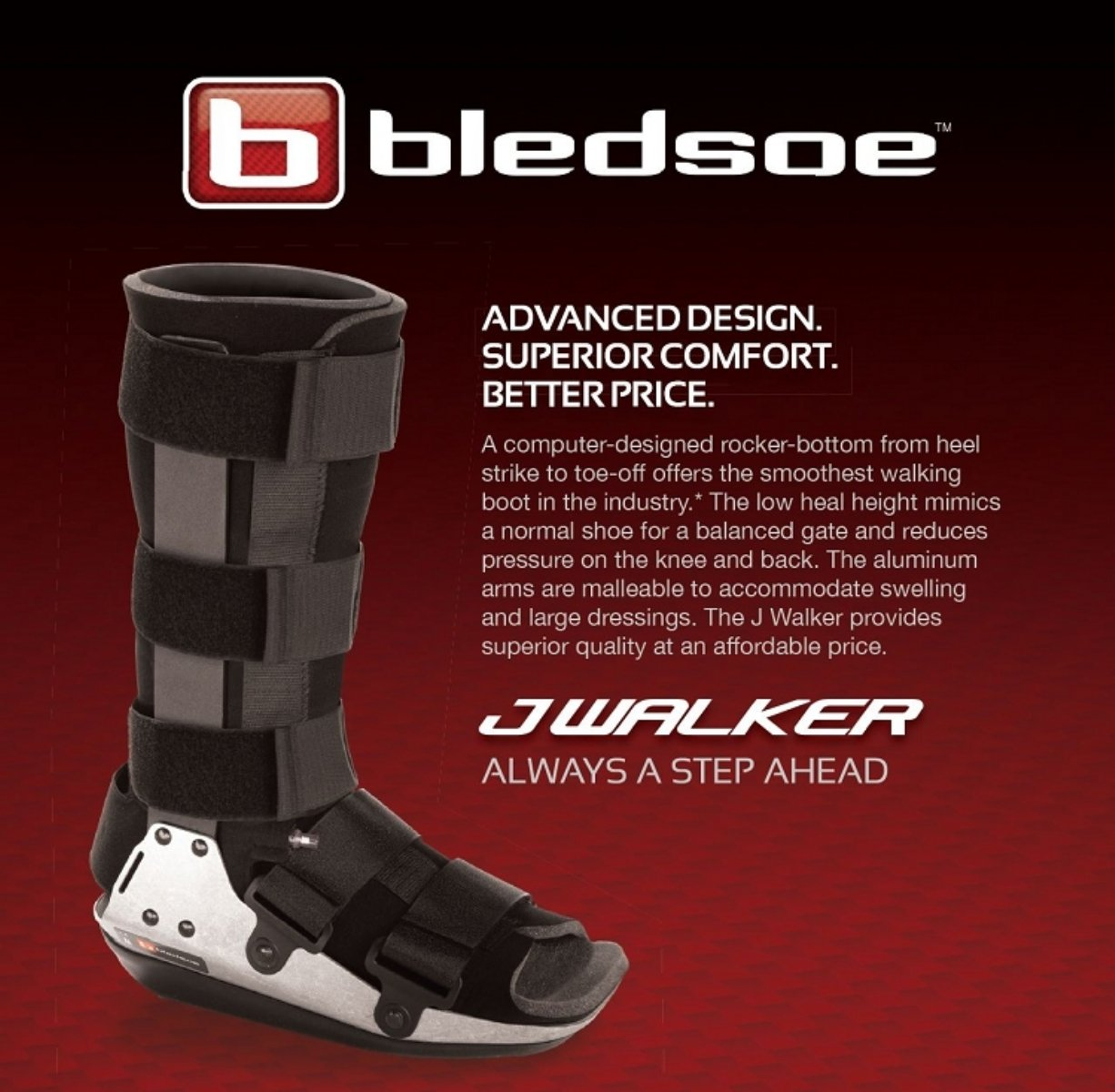 048a1af777d Amazon.com: Bledsoe JWalker Fracture Cast Boot, With Air Standard ...