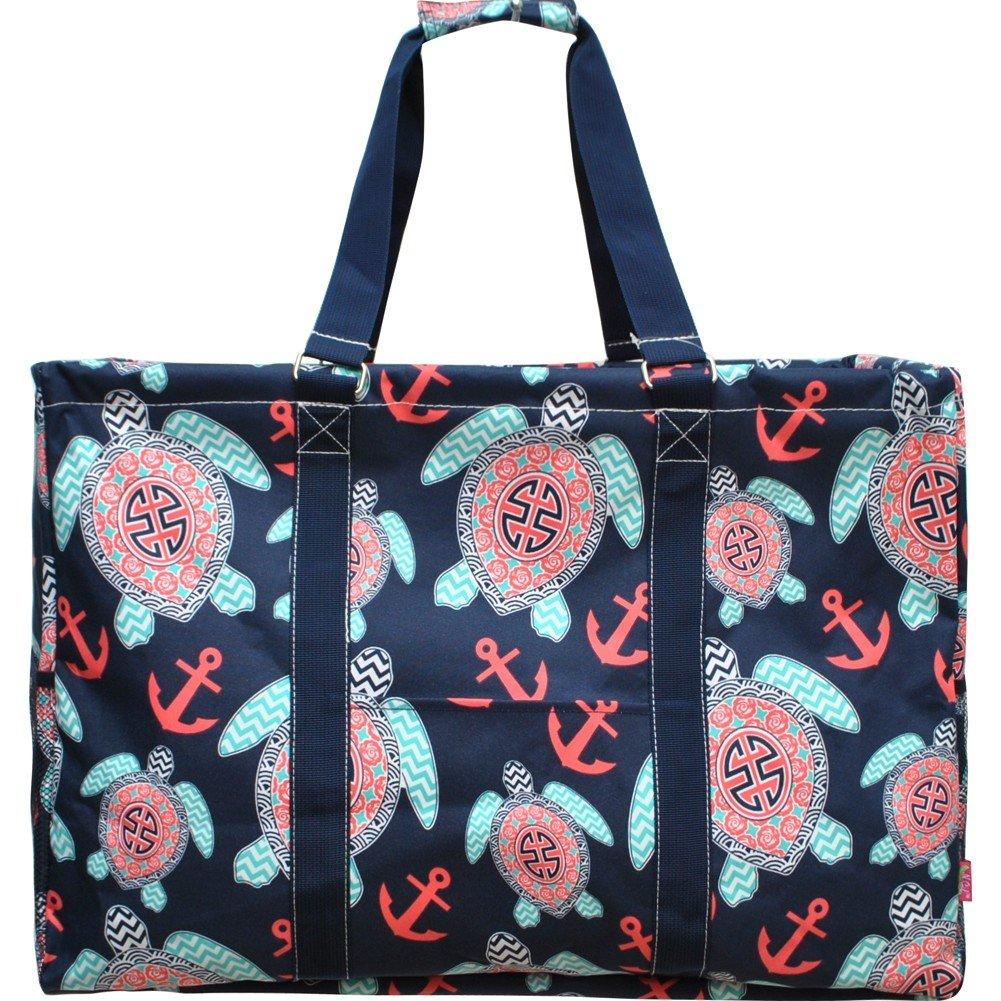 Ocean Themed Prints NGIL Mega Shopping Utility Tote Bag