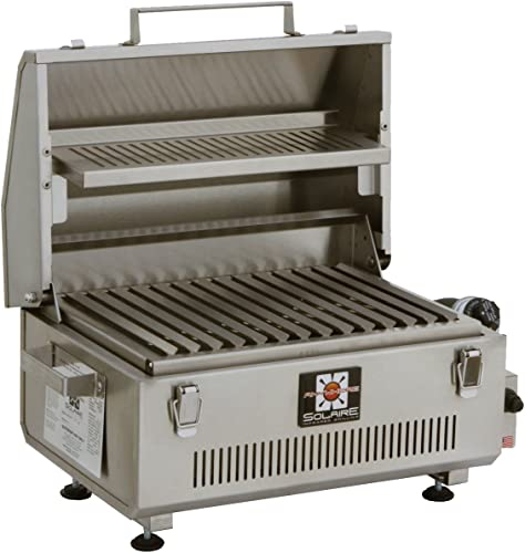 Solaire SOL-IR17BWR Portable Infrared Propane Gas Grill