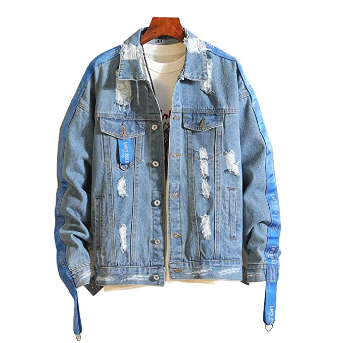 2018 Jeans Streetwear Inverno Giubbotti Outwear Caldo