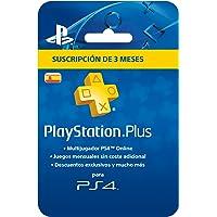 Sony - Tarjeta PSN Plus 90 Días (3 Meses) - Segunda Reedición - (PlayStation 3)