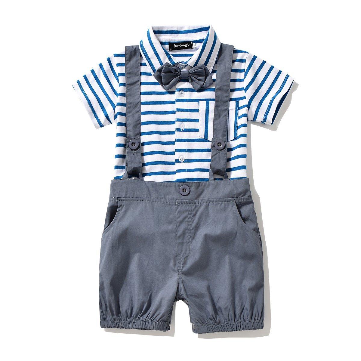 FERENYI APPAREL ベビーボーイズ B01GVITKHS ブルー 0-6 months 0-6 months|ブルー
