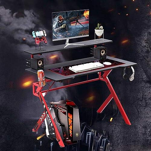 hosote 47 Inch Gaming Desk - the best modern office desk for the money