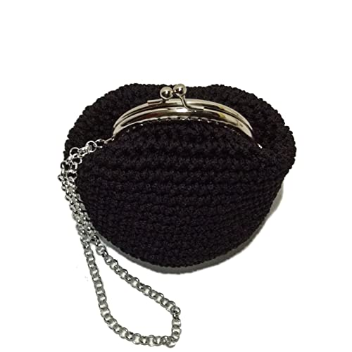 MATILDE - Italian Handmade - Monedero hecho a mano. Crochet ...