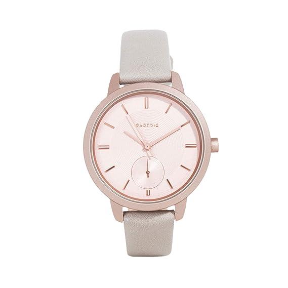 Parfois - Reloj Rose Gold - Mujeres - Tallas Única - Cinza Claro: Amazon.es: Relojes