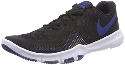 7d15e5c1f0e78 Nike Flex Control Ii Blk-Gym Blue-WHT  Buy Online at Low Prices in India -  Amazon.in