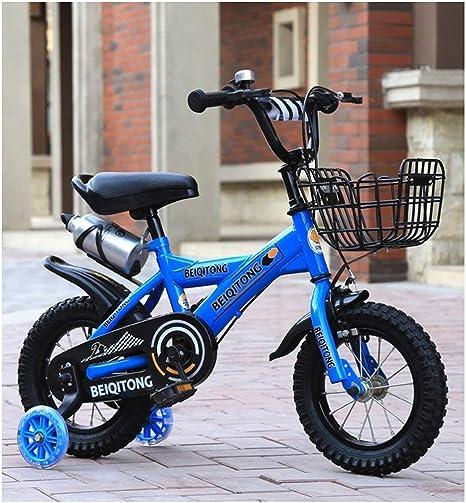 K-G Bicicleta Infantil 2-10 Años De Niños Y Niñas, Frenos del Niño ...