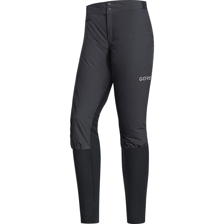 Terra Grey Black GORE WEAR C5 Women Windstopper Trail Pants