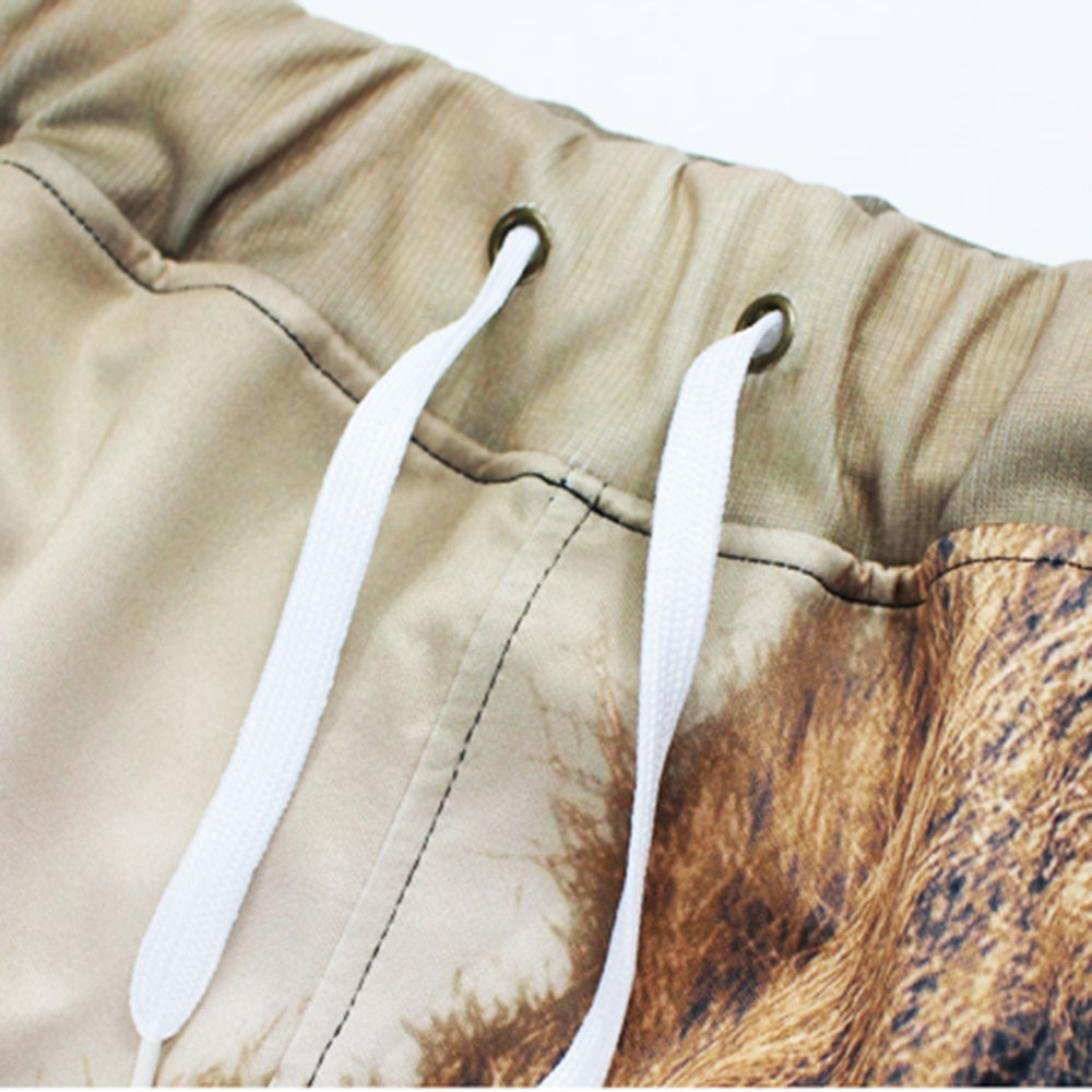 Allywit Men 3D Digital Print Jogger Pants Casual Sports Sweatpants with Pockets by Allywit (Image #6)