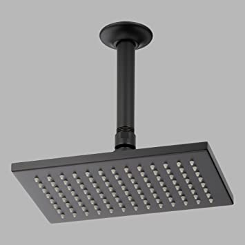 single function rain shower head collection matte black best heads reviews led with handheld moen