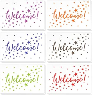 Amazon com : Welcome Greeting Cards - W1802  Business