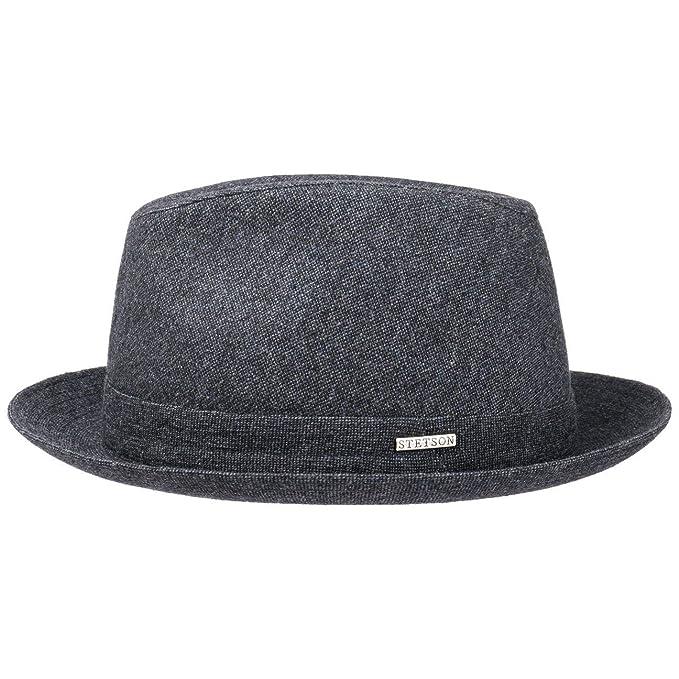 Stetson Sombrero de Lana Melange Hombre  2ff2a739fbf
