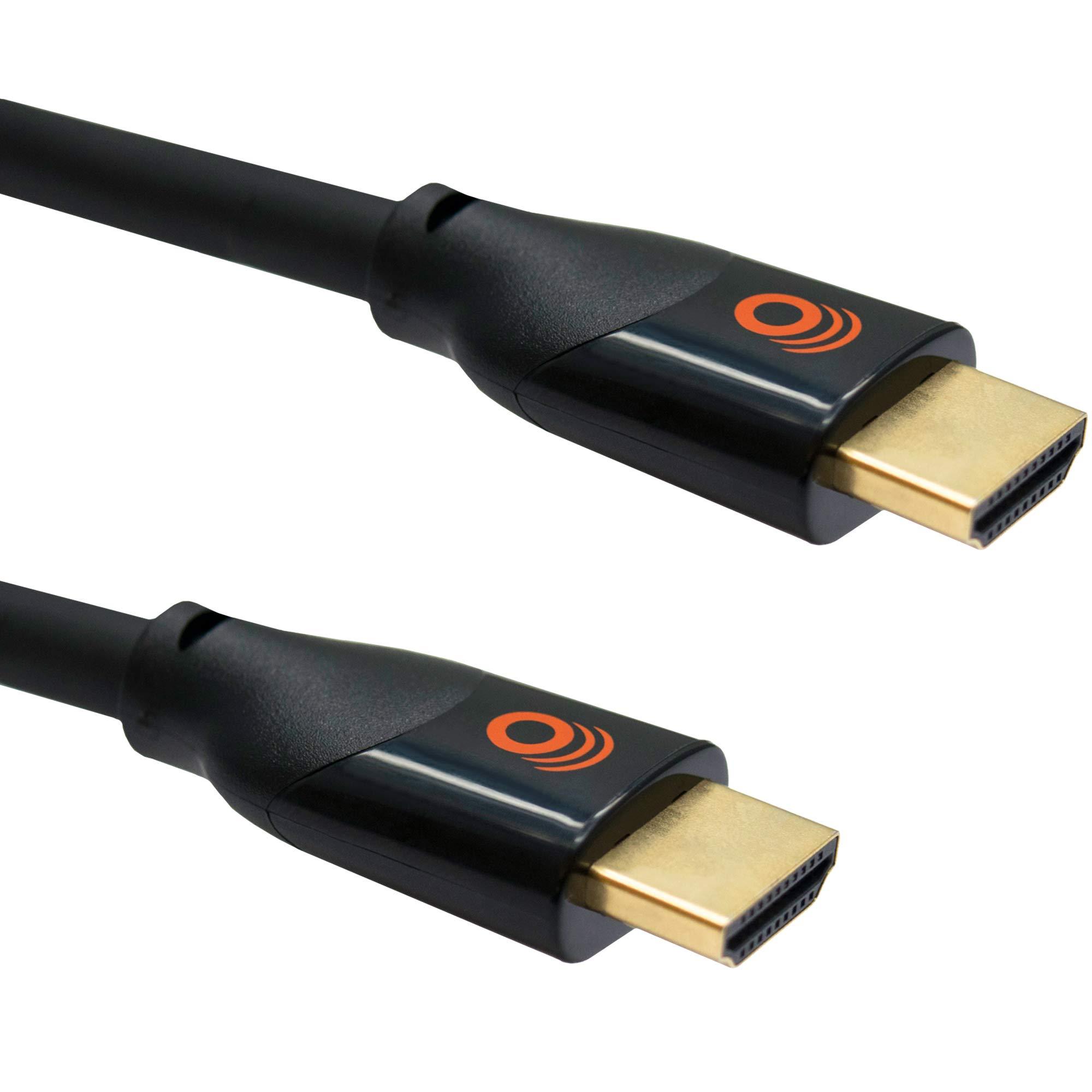 Echogear Cable Corto Hdmi 2.1 De 2 Pies - Compatible Con 4k Y Hdr - Cumple Con El Último Estándar Hdmi - Conexiones Chap