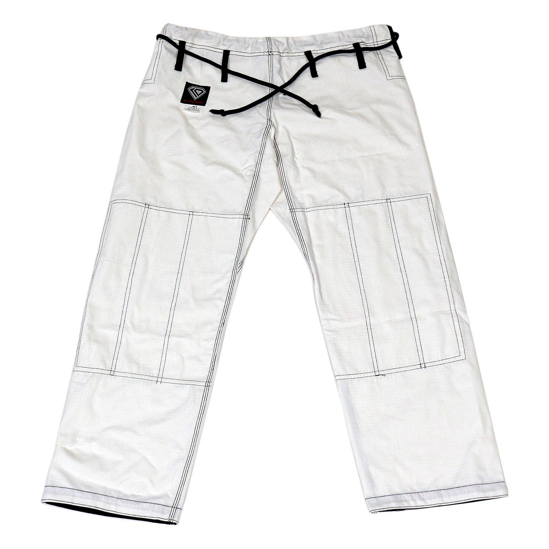 KO Sports Gear's White Gi Pants - Rip Stop - For