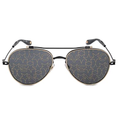 59571c6936 Amazon.com  Sunglasses Givenchy Gv 7057 S NUDE 02M2 Black Gold 7Y ...