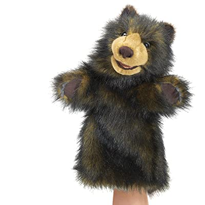Folkmanis Bear Stage Puppet: Toys & Games