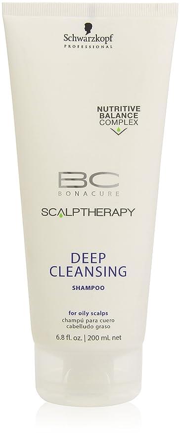 BC Bonacure Deep Cleansing Champú para Cuero y Cabelludo Graso - 200 ml