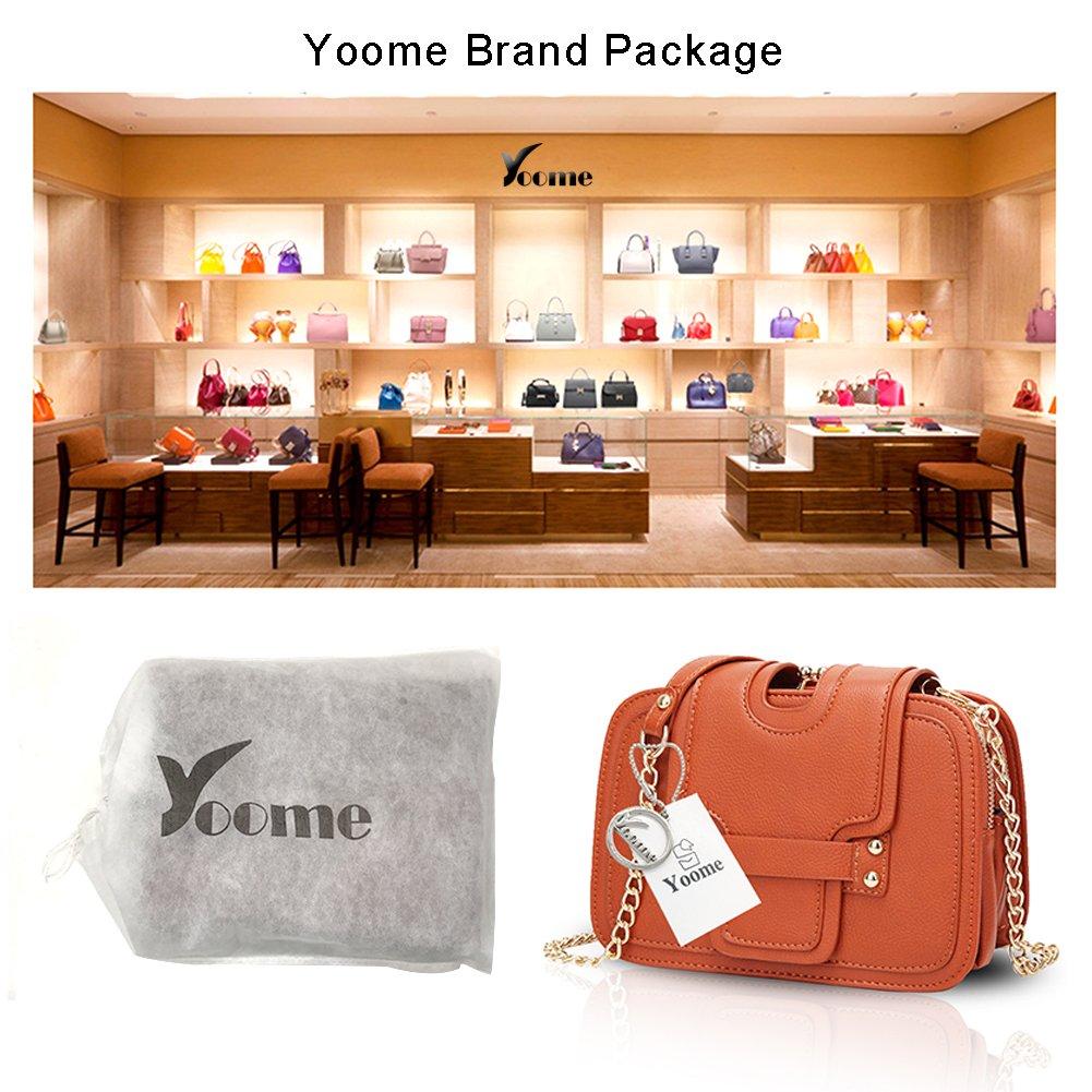 Yoome Ketten Flap Tasche Beiläufige Taschen Für Frauen Frauen Frauen Crossbody Vintage Taschen Für Mädchen - Orange B074J7L95P Shopper Schöne Farbe f9e22f