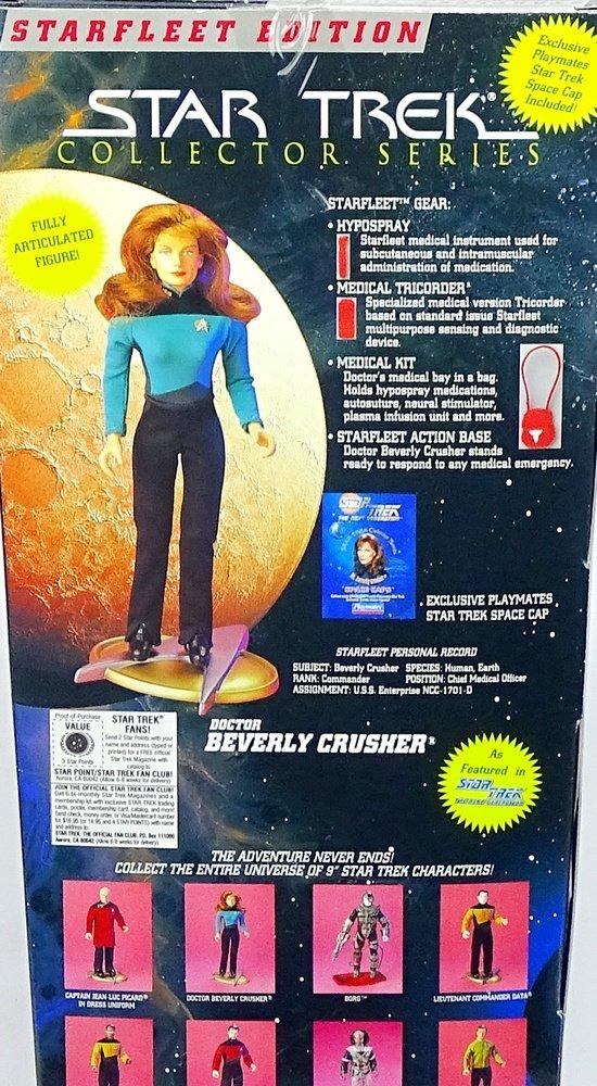Dr Beverly Crusher Star Trek Collectors Series Starfleet Edition Playmates
