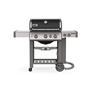 Weber 66012001 Genesis II E-330 3-Burner Natural Gas Grill, Black