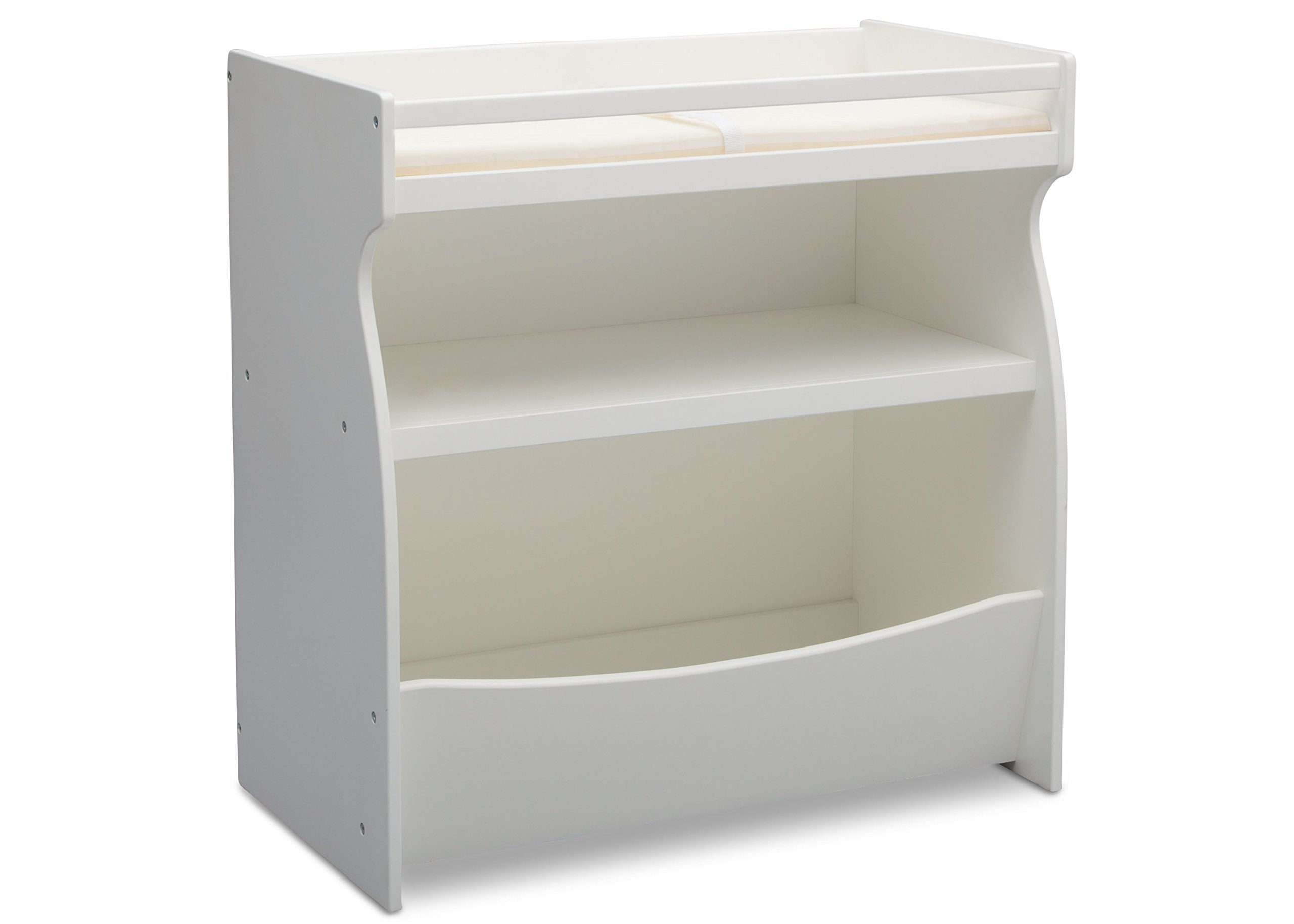 Delta Children 2-in-1 Changing Table and Storage Unit, Bianca