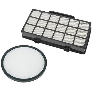 Rowenta ZR006001X-TREM POWER Cyclonic Filter Kit (RO69XX) Filter System High Efficiency Pre-Motor Cash Box–Black