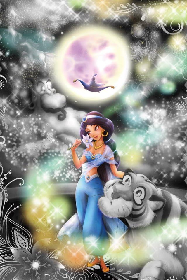 ディズニー アラジン 恋の魔法にのって iPhone(640×960)壁紙画像