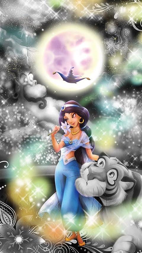 ディズニー アラジン 恋の魔法にのって XFVGA(480×854)壁紙画像