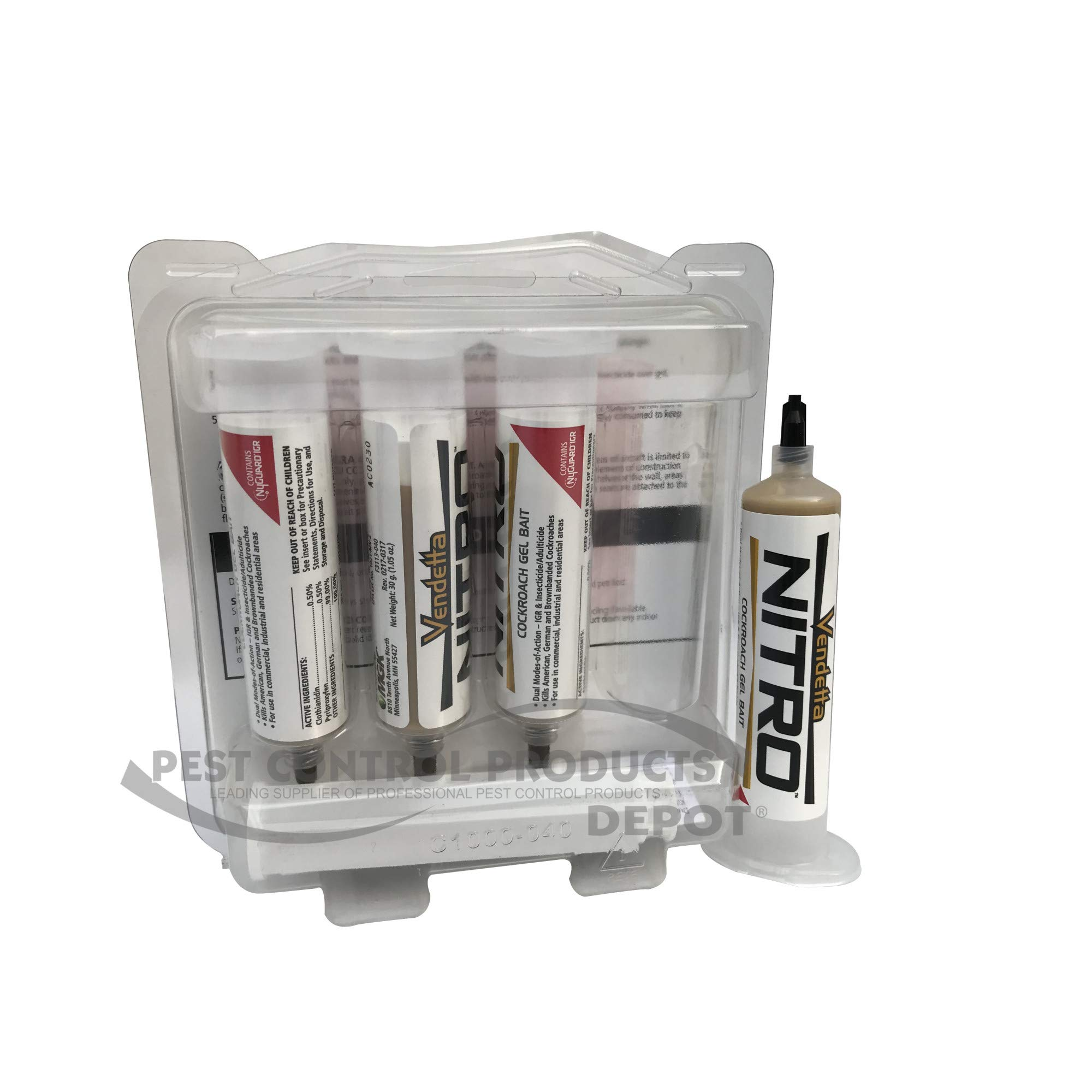 MGK 832180 Vendetta Nitro Cockroach Gel, 4-Pack