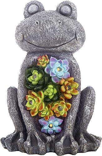 Garden Statue Frog Figurine