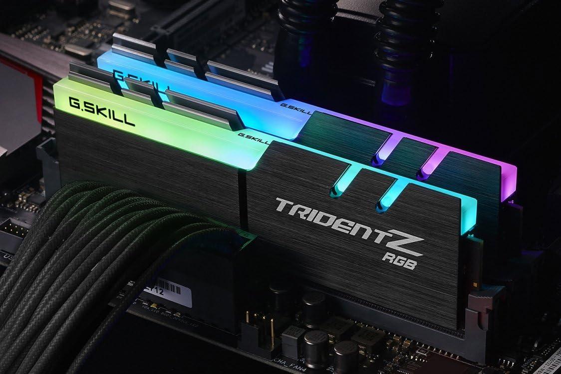 2 x 8GB G.SKILL TridentZ RGB Series 16GB 288-Pin 3000MHz F4-3000C15D-16GTZR