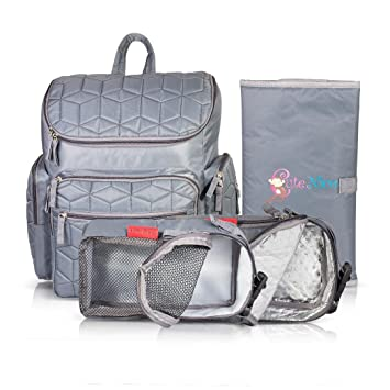 b0c8dd399bcd Cute Nico Changing Backpack - Large Capacity with Waterproof Baby ...