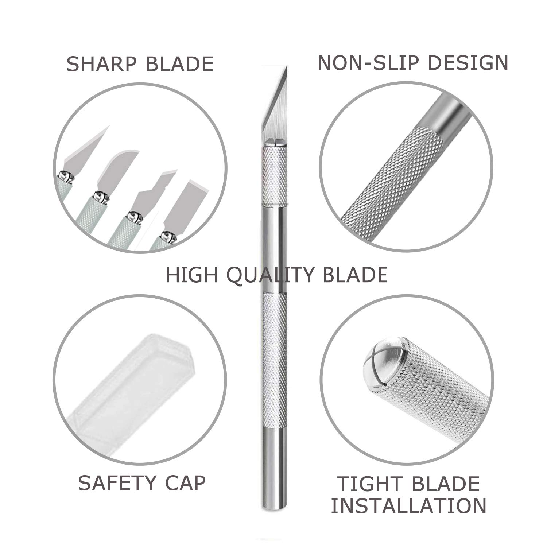Amazon.com: Cuchillo de precisión para manualidades, de la ...