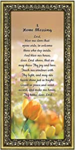 A Home Blessing, God Bless This Home Sign, Home Blessing Decor, 7302G