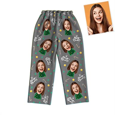 Pijamas Personalizados Foto para Mujer Hombre Niños,Conjunto ...