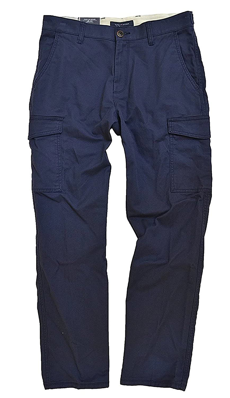 Tommy Hilfiger Men S Textured Cargo Pants Durable Service