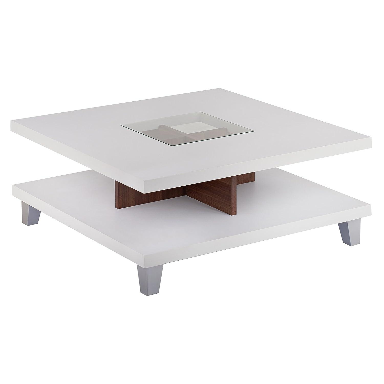 Amazon ioHOMES Lendon Square Coffee Table White Kitchen