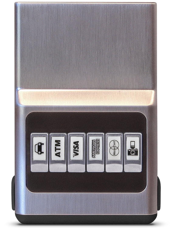 ACM Wallet Credit Card Holder - Hybrid Color Case and Money Clip Unisex